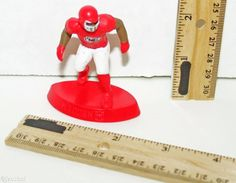"MADDEN NFL FOOTBALL 2.5"" MCDONALDS TOY FIGURE EA SPORTS KANSAS CITY CHIEFS 2014 #EASports"