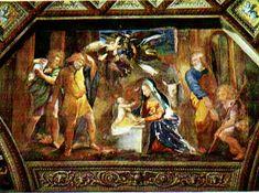 The Birth of Christ , Raphael, 1518-19. Christus Rex.