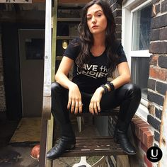 Carmilla is supporting our mission to Save the Undies one t-shirt (and eyebrow) at a time! Give the image a click to watch Carmilla Series Season Zero.