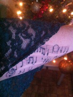 My second tattoo, December 2011
