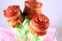 Bacon Roses   Gwen's Kitchen Creations