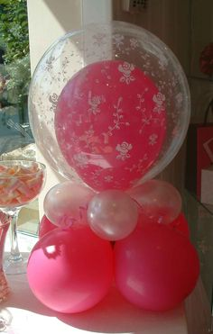 double balloons