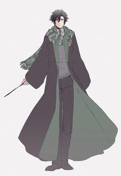 Jumin Han from Mystic Messenger Jumin X Mc, Jumin Han Mystic Messenger, Hogwarts Mystery, Saeran, Fandom Crossover, Manga, Slytherin, Cute Drawings, Anime Guys