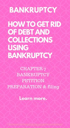 Max Feo, MBA, JD:  How bankruptcy filing eliminates debt and collections.   Bankruptcy petition preparation and filing explaining, Bankruptcy Chapter 7: What is bankruptcy Prepare petition Filing bankruptcy How to file bankruptcy Filing bankruptcy tips Bankruptcy tips Bankruptcy chapter 7 fresh start #bankruptcy #creditrepair #credit #studentloans #goodcredit #creditscore #taxliens #tradelines #collections #creditrestoration #chargeoffs #judgements #badcredit #medicalbills #fixyourcredit Fix Your Credit, Credit Score, Wholesale Real Estate, Rebuilding Credit, Tax Debt, Business Funding, Paralegal, Student Loans, Fresh Start