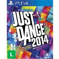 Extra Jogo Just Dance 2014 - PS4 - Jogos Playstation 4 -R$25,00
