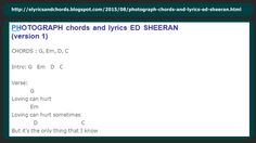http://elyricsandchords.blogspot.com/2015/08/photograph-chords-and-lyrics-ed-sheeran.html  PHOTOGRAPH chords and lyrics ED SHEERAN