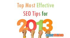 Top 5 #SEO Tips for 2013