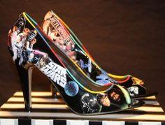 star-wars-high-heels    Repinned by Hoogli