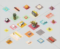 Visual Set Design by Andrew B. Myers – Fubiz™