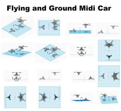 Flying and Ground Midi Car