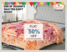 The weather outside might be cold but you can enjoy the warmth indoors with our cozy winter collection by Signature. Now avail up to 50% on 'End of Season Sale.'  shop now -> https://goo.gl/AKbMAH (Flipkart is our online partner)  #winterblanket #minkblanket