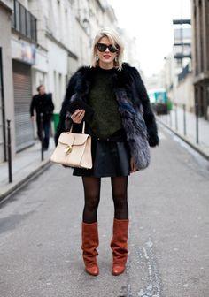 Preciosas ideas de look con abrigos  Lo mejor de Street Style