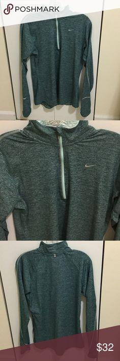 Nike Dri-Fit Running Jacket Blue Nike Dri-Fit Running Jacket! Perfect condition- super soft Nike Jackets & Coats