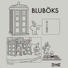 seems about right... #doctorwho #ikea