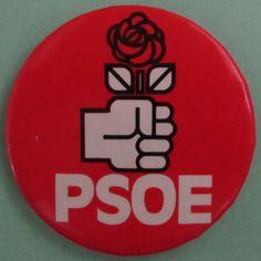 "[Puny amb rosa] ""PSOE"". Logotip del Partido Socialista Obrero Español (PSOE)"