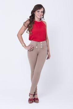 www.bonabella.com.co Capri Pants, Fashion, November, Hairstyles, Capri Trousers, Moda, Fashion Styles, Fashion Illustrations