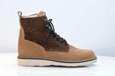 Fracap x Harris Tweed   #menswear #fashion #shoes #boots