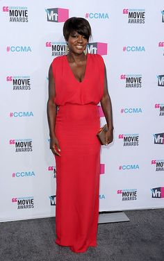 """""""You is kind. You is smart. You is important.""""  Viola Davis - Raoul dress"""