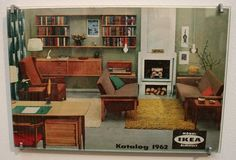 Vintage Ikea Furniture Amusing With  ikea 1962 retro reverb ikea catalog catalogue covers vintage furniture Photo