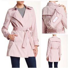 Freesia Coat by Elie Tahari NWT Freesia Coat by Elie Tahari. Color: Blush. Size: small. Sorry  trades Elie Tahari Jackets & Coats