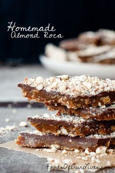Homemade Almond Roca - Foods of Our Lives