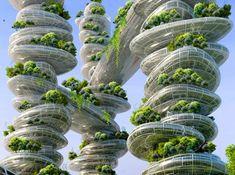 urban paris 2050 gardening #4 | design: vincent callebaut
