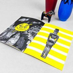 """Do What Thou Wilt"" - 16 pages zine - edition of 50. Enjoy it on www.nervicani.com (find link in bio) ☺️ #zine #fanzine #fanzines #zines #smallpress #artbook #dowhatthouwilt #auryn #neverendingstory #illustration #illustrations #sketch #drawing #drawmore #drawmoreshit #artistbook #art #yellow #black #smile"