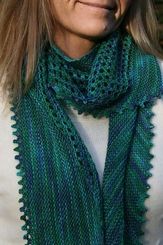 Beautiful infinity scarf? Hard to tell from the photo but I'm going to investigate.