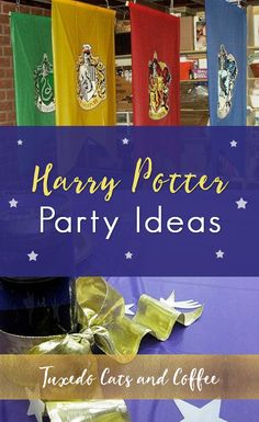 We held this Harry Potter party as an awards ceremony and end-of-the-year banquet for a group at a high school. This post will give you Harry Potter party ideas