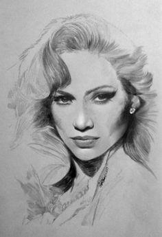 Jennifer Lopez by Cipta Stevano Gunawan {from Indonesia}