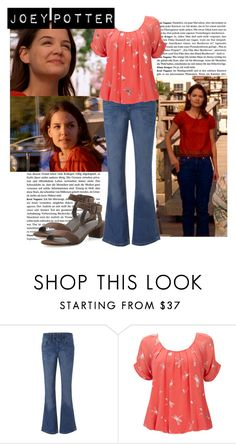 Joey Potter - Outfit Inspiration - Season 3 by vilena-ferreira on Polyvore featuring moda, Wallis, Jane Norman and Vince