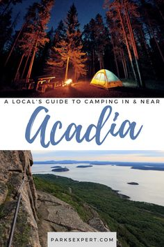 Check out The Parks Expert's Acadia National Park Camping Guide to learn about Acadia campgrounds and camping near Acadia. Usa Travel, Travel Tips, Acadia National Park Camping, Mount Desert Island, Best Campgrounds, Camping Guide, Picnic Area, Outdoor Woman, Travel Inspiration