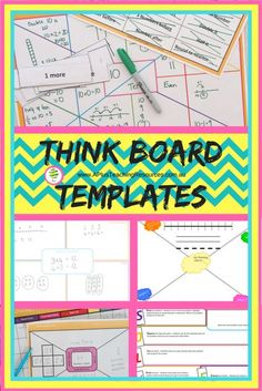 FREE think board template for teaching maths By A PlusTeaching Resources