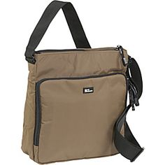 Top Zip Front Organizer Taupe