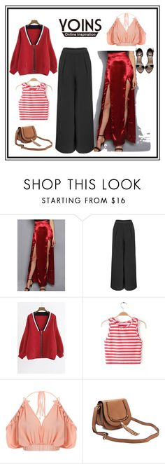 """""""Yoins 26"""" by fatimazbanic ❤ liked on Polyvore featuring polyvorefashion, yoins, yoinscollection and loveyoins"""