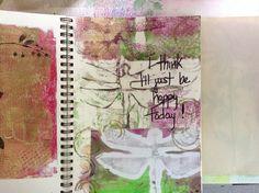 I think I'll just be happy today. Tish Santor. May 2014