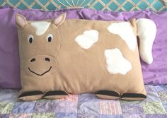 Horse Pillow Sham by My3SillyMonkeys on Etsy, $25.00