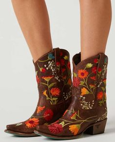 Lane Boots Flower Power Cowboy Boot - Women's Shoes | Buckle