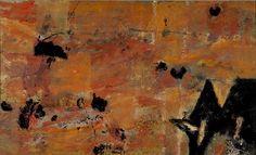 Piotr Potworowski, Landscape harvesting with an ox / Pejzaż żniwny z wołkiem on ArtStack #piotr-potworowski #art