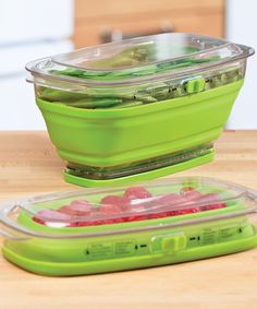 2.5-Qt. Collapsible Produce Keeper