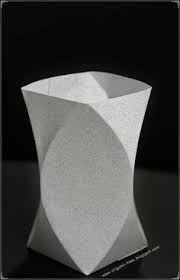 Resultado de imagem para vaso de origami tutorial