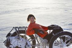 Meet Maria Leijerstam: The World's First Woman Reached South Pole On Cycle - [Click on Image Or Source on Top to See Full News]