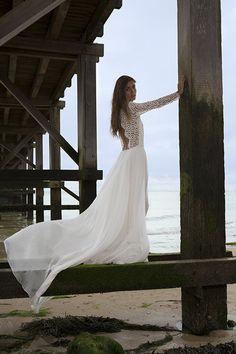 robe de mariée créateur fabienne Alagama Paris et Lyon - campagne 2017