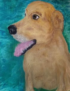 Recently adopted. Hank The Tank, Four Legged, I Love Dogs, Painting, Painting Art, Paintings, Painted Canvas, Drawings