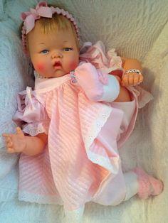 Vintage Antique OTT-19 Crying THUMBELINA Doll WORKS Crier ear holes #Dolls