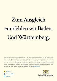 Alles im Leben hat zwei Seiten. Darum gibt es in Baden-Württemberg nicht nur attraktive Jobs, sondern auch genauso attraktive Freizeitmöglichkeiten. Advertising, Bathing