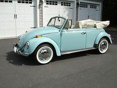 1970 Volkswagen : Beetle - Classic Convertible. Ours was yellow. We drove it on our honeymoon