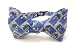 Time And Relative Dimension In Space. Perfect for the Doctor in your life    Available in:  Mens Self Tie  Mens Pre-Tied  Boys Pre-Tied