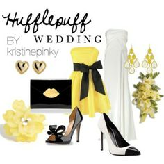 Hufflepuff Wedding | Harry Potter Theme Weddings