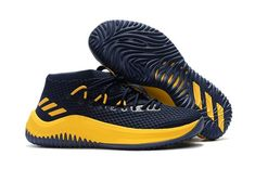 purchase cheap 9e50f 0ab76 New Adidas Dame 4 Black Yellow Shoes Top Deals, Price - adidas Shoes Store  UK